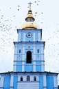 St. Michael's Golden-Domed Monastery Ukraine Royalty Free Stock Photo