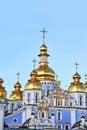 St michael s monastery in kiev golden cupola of ukraine Stock Photo