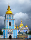 St michael s monastery kiev ukraine golden domed in Royalty Free Stock Photography
