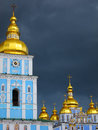 St michael s monastery kiev ukraine golden domed in Stock Photography