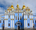 St michael s monastery kiev ukraine golden domed in Stock Photos