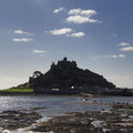 St michael s mount cornwall uk in europe Stock Photo
