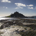 St michael s mount cornwall uk in europe Royalty Free Stock Image