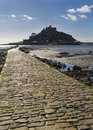 St michael s mount cornwall uk in europe Stock Photos