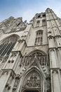 St. Michael and St. Gudula Cathedral Royalty Free Stock Images
