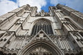 St. Michael and St. Gudula Cathedral in Brussels B Stock Images