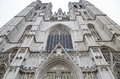 St michael and st gudula cathedral in brussels belgium Royalty Free Stock Image