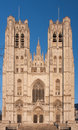 St michael and st gudula cathedral in brussels belgium Stock Photo