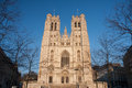 St michael and st gudula cathedral in brussels belgium Stock Images
