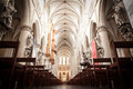 St. Michael and St. Gudula Cathedral Royalty Free Stock Photo