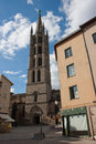 St michel s church in limoges france Royalty Free Stock Photos