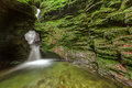 St Nectan's Glen, Tintagel, Cornwall. Stock Photos