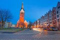 St nicholas cathedral in elblag old town of poland Stock Photos
