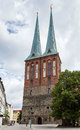 St nicholas church berlin Arkivfoto