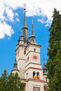 St. Nicholas Church in Brasov Stock Photos