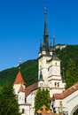 St nicholas church brasov romania transylvania saint was built in ad in gothic style later redecorated with baroque style Royalty Free Stock Images