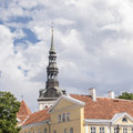 St nicholas church in oldtown of tallin estonia Stock Image