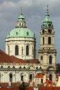 St. Nicholas church in Prague Royalty Free Stock Photo