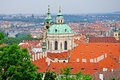 St nicholas church in prague czech republic Stock Photography