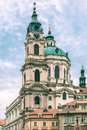 St. Nicholas Church in Prague, Czech Republic Royalty Free Stock Photo