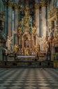 St Nicholas Church Prague Royalty Free Stock Photo