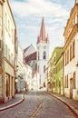 St. Nicholas` church, Znojmo, Czech Royalty Free Stock Photo