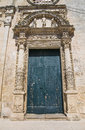 St. Nicola Mother Church. Corigliano d'Otranto. Puglia. Italy. Stock Photography