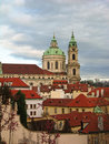 St. Nicolas Church, Mala Strana, Prague Stock Images