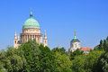 St nikolai church dome of in potsdam germany Royalty Free Stock Photography