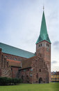 St olaf s church helsingor is the cathedral of in the north of zealand denmark Stock Images