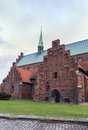 St olaf s church helsingor is the cathedral of in the north of zealand denmark Royalty Free Stock Image