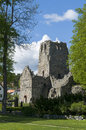 St olof medieval church ruin in sigtuna sigtuna is the oldest city in sweden having been founded in uppland sweden Stock Photos