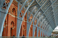 St. Pancras International Station Stock Image