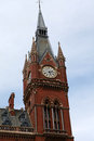 St Pancras in London, England. Royalty Free Stock Image