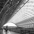 St Pancras Station London Stock Images