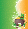 St. Patrick background Royalty Free Stock Images