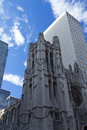 St. Patrick Cathedral in New York Royalty Free Stock Photo