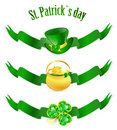 St.Patrick day banners Stock Photography