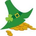 St Patrick Day hoed Royalty-vrije Stock Foto
