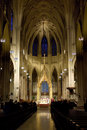 St. Patrick's cathedral Stock Image
