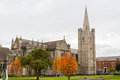 St. Patrick's Cathedral. Dublin, Ireland Stock Photo