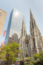 St patrick s cathedral new york city usa Royalty Free Stock Image