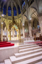 St patrick s cathedral new york nov the interior of a neogothic roman catholic in new york city on november the Stock Images