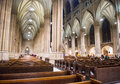 St patrick s cathedral new york nov the interior of a neogothic roman catholic in new york city on november the Stock Photos