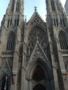 St Patrick's Cathedral in New York Royalty Free Stock Photo