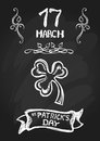 St patrick s day background Royalty Free Stock Photo
