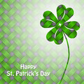St patrick s day background with green elements design Royalty Free Stock Photography