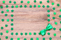St Patrick`s Day background Royalty Free Stock Photo