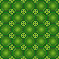 St. Patrick's day background, Vector seamless wallpaper pattern