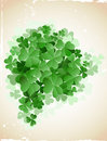 St patrick`s day card Stock Photography